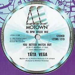 """画像2: TATA VEGA / YOU KEEP ME HANGIN ON (英原盤/全2曲) [◎中古レア盤◎貴重!英国のみ12""""!レア・グルーヴ2発!]"""