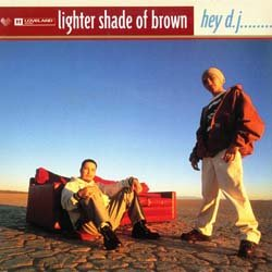 画像2: LIGHTER SHADE OF BROWN / HEY D.J. (英原盤/ヨーロッパMIX) [◎中古レア盤◎希少!別REMIX!ヒップハウスMIX!]