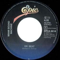 画像2: MIAMI SOUND MACHINE / DR. BEAT (7インチMIX) [◎中古レア盤◎お宝!オランダ版ジャケ!7インチMIX!]
