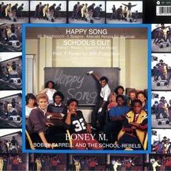 """画像2: BONEY M / HAPPY SONG (独原盤/12""""MIX) [◎中古レア盤◎激レア!別デザインジャケ原盤!ミュンヘンDISCO最高峰!]"""