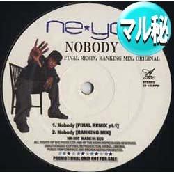 画像1: NE-YO / NOBODY (マル秘REMIX/5VER) [■送料無料■マル秘REMIX!超希少音源!]]
