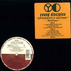 画像2: YOUNG DISCIPLES / APPARENTLY NOTHING (原盤/REMIX) [◎中古レア盤◎正真正銘の原盤!人気REMIX!]