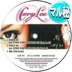 画像1: CORY LEE / ベスト5曲集 (マル秘MIX/全5曲) [■廃盤■希少!マル秘MIX!マニアお探しのB2!]