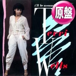 """画像1: TERRI WELLS / I'LL BE AROUND (英原盤/12""""MIX) [◎中古レア盤◎お宝!希少ジャケ付!極上女性VOカバー!インスト入り版!]"""