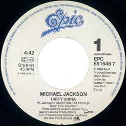 画像4: MICHAEL JACKSON / DIRTY DIANA (7インチMIX) [◎中古レア盤◎お宝!オランダ版ジャケ!7インチMIX!]