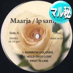 画像1: MAARJA / ベスト集 (マル秘音源/全6曲) [■廃盤■お宝!マル秘音源!MEJAと並ぶ女性隠れシンガー!]
