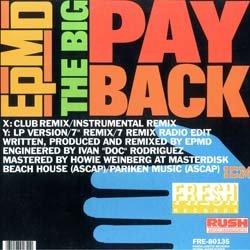 画像2: EPMD / THE BIG PAYBACK (REMIX) [◎中古レア盤◎人気ジャケ付!JB使いミドル名盤!]