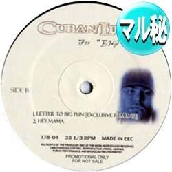 画像1: CUBAN LINK / LETTER TO BIG PUN (マル秘REMIX) [■廃盤■必殺「マル秘REMIX」!超希少音源!]