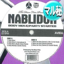 画像1: NABLIDON / BODY MOVE (マル秘MIX) [■廃盤■希少!極少生産!お探しのマル秘音源!]