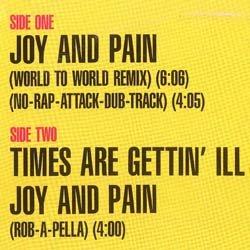 画像2: ROB BASE & DJ EZ ROCK / JOY AND PAIN (米原盤/REMIX) [◎中古レア盤◎お宝!コレはUS原盤!MAZE名曲使い!]