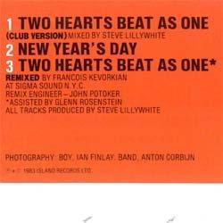 画像2: U2 / ニュー・イヤーズ・デイ (原盤/全2曲) [◎中古レア盤◎お宝!帯付き美品!年越し定番!日本独占版!フランソワMIX!]