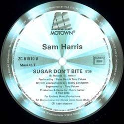 画像2: SAM HARRIS / SUGAR DON'T BITE (仏原盤/ロングMIX) [◎中古レア盤◎美品!超レア!フランス盤ジャケ + ロングMIX!]