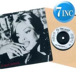 画像1: JANET JACKSON / IF & ONE MORE CHANCE (7インチ) [◎中古レア盤◎お宝ジャケ!希少7インチのみの音源!]