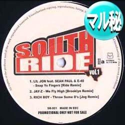 画像1: V.A / SOUTH RIDE VOL.1 (マル秘REMIX/全6曲) [■廃盤■マル秘REMIX!超希少音源!]