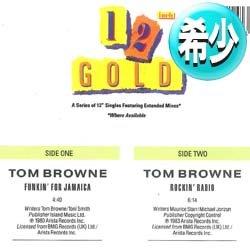画像1: TOM BROWNE / FUNKIN' FOR JAMAICA & ROCKIN' RADIO (全2曲) [◎中古レア盤◎お宝!高音質シリーズ!両面人気ネタ!]