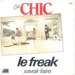 """画像2: CHIC / LE FREAK (7インチMIX) [◎中古レア盤◎貴重!フランス版ジャケ付!7""""MIX!]"""