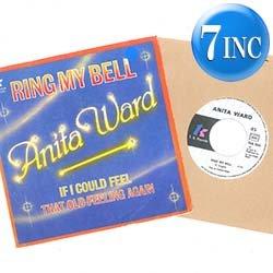 画像1: ANITA WARD / RING MY BELL (7インチMIX) [◎中古レア盤◎お宝!希少オランダ盤ジャケ!7インチMIX!]