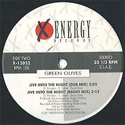 画像3: GREEN OLIVES / JIVE INTO THE NIGHT (伊原盤/4VER) [◎中古レア盤◎激レア!別ジャケのイタリア版!ウィンク原曲!]