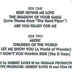 画像2: D TRAIN / いそしぎ (LP原盤/全8曲) [◎中古レア盤◎お宝!美品!希少な帯付!超人気「いそしぎ」入り!]
