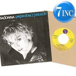 画像1: MADONNA / PAPA DON'T PREACH (7インチ) [◎中古レア盤◎お宝!貴重フランス版ジャケ7インチ!]
