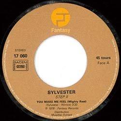 """画像2: SYLVESTER / YOU MAKE ME FEEL (7インチMIX) [◎中古レア盤◎お宝!フランス版7""""MIX!ダニーの7""""特集掲載!]"""