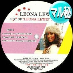 画像1: LEONA LEWIS  / ベスト・オブ・LEONA (マル秘REMIX/全3曲) [■廃盤■超希少音源!衝撃の全3曲マル秘MIX!]