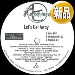 画像1: KIERAN / LET'S GET AWAY (非売品/全2曲) [■廃盤■奇跡の新品!超希少音源!マイナーR&B!]