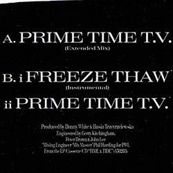 画像2: BASIA / PRIME TIME TV (原盤/ロングMIX) [◎中古レア盤◎激レア!滅多に無い別ジャケ!]