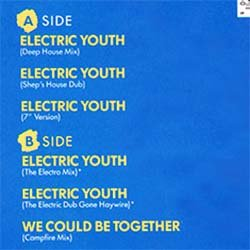 """画像2: DEBBIE GIBSON / ELECTRIC YOUTH (米原盤/12""""MIX) [◎中古レア盤◎お宝!シュリンク付A級品!可愛いDISCO定番!]"""