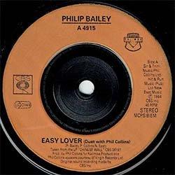 画像4: PHILIP BAILEY & P.COLLINS / EASY LOVER (7インチMIX) [◎中古レア盤◎お宝!英国版ジャケ!7インチMIX!]