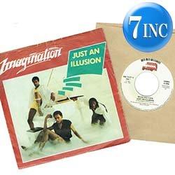 画像1: IMAGINATION / JUST AN ILLUSION (7インチMIX) [◎中古レア盤◎お宝!ベルギー版ジャケ!7インチMIX!]