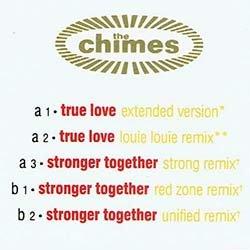 画像2: THE CHIMES / TRUE LOVE (米原盤/全2曲) [◎中古レア盤◎人気!美メロ & サックス「LOUIE LOUIE REMIX」版!]