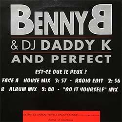 """画像2: BENNY B & DJ DADDY K / EST-CE QUE JE PEUX (仏原盤/REMIX) [◎中古レア盤◎激レア!""""AIN'T NO HALF STEPPIN""""同ネタ!幻のフレンチRAP!]"""