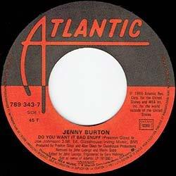 画像4: JENNY BURTON / DO YOU WANT IT BAD ENUFF (7インチMIX) [◎中古レア盤◎お宝!フランス版ジャケ!7インチMIX!]