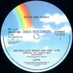 画像3: RUFUS & CHAKA / DO YOU LOVE WHAT YOU FEEL (英原盤/REMIX) [◎中古レア盤◎VERY RARE!以前は2万!別ジャケREMIX原盤!]