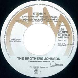 画像3: BROTHERS JOHNSON / STOMP (7インチMIX) [◎中古レア盤◎お宝!オランダ版ジャケ!7インチMIX!]
