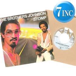 画像1: BROTHERS JOHNSON / STOMP (7インチMIX) [◎中古レア盤◎お宝!オランダ版ジャケ!7インチMIX!]