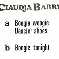 """画像3: CLAUDJA BARRY / BOOGIE WOOGIE DANCIN' SHOES (7インチMIX) [◎中古レア盤◎お宝!激レアなフランス版ジャケ!7""""MIX!]"""