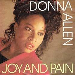 """画像2: DONNA ALLEN / JOY AND PAIN (7インチMIX) [◎中古レア盤◎お宝!壁に飾れるドイツ版ジャケ!哀愁80's!7""""MIX!]"""