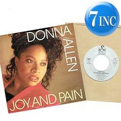 """画像1: DONNA ALLEN / JOY AND PAIN (7インチMIX) [◎中古レア盤◎お宝!壁に飾れるドイツ版ジャケ!哀愁80's!7""""MIX!]"""