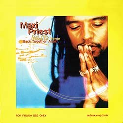 画像3: MAXI PRIEST & ELISHA.L / BACK TOGETHER AGAIN (欧州プロモ/REMIX) [◎中古レア盤◎激レア!別ジャケ&黄色盤プロモMIX版!]