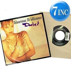 """画像1: VANESSA WILLIAMS / DARLIN' I (7インチ) [◎中古レア盤◎貴重な美品!US版ジャケ7""""!極上ラブ・バラード!]"""