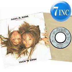 """画像1: MEL & KIM / THAT'S THE WAY IT IS (7インチ) [◎中古レア盤◎お宝!西ドイツ版ジャケ7""""!目玉はB面の未発表曲入り!]"""