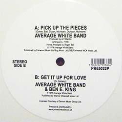 画像3: AVERAGE WHITE BAND / PICK UP THE PIECES (カラー盤/全2曲) [■RSD限定■全国完売!お宝直行!B面も夢の12インチ化!]