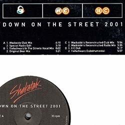 画像2: SHAKATAK / DOWN ON THE STREET 2001 (2枚組プロモ/7VER) [◎中古レア盤◎激レア!お洒落ダンクラの2001年版!極上哀愁MIX!ドイツ版のみ!]