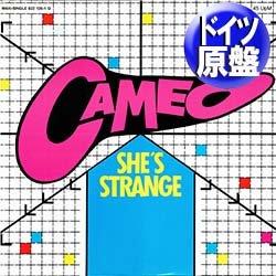 """画像1: CAMEO / SHE'S STRANGE (独原盤/12""""MIX) [◎中古レア盤◎激レア!最強の西ドイツ版ロゴジャケ!ロングMIX!]"""