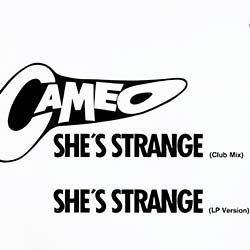 """画像2: CAMEO / SHE'S STRANGE (独原盤/12""""MIX) [◎中古レア盤◎激レア!最強の西ドイツ版ロゴジャケ!ロングMIX!]"""