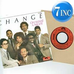 """画像1: CHANGE / OH WHAT A NIGHT (7インチMIX) [◎中古レア盤◎お宝!仏版ジャケ7""""MIX!あのすばらしき夜!]"""