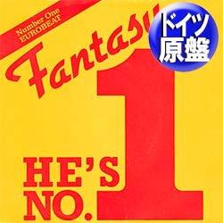 """画像1: FANTASY / HE'S NUMBER ONE (独原盤/12""""MIX) [◎中古レア盤◎激レア!ドイツ版ジャケ!女性ハイエナ最高峰!]"""