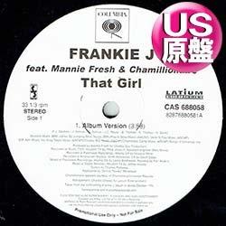 画像1: FRANKIE J / THAT GIRL (米原盤/3VER) [◎中古レア盤◎お宝!美A級品!滅多に無し!フロア大HIT!]